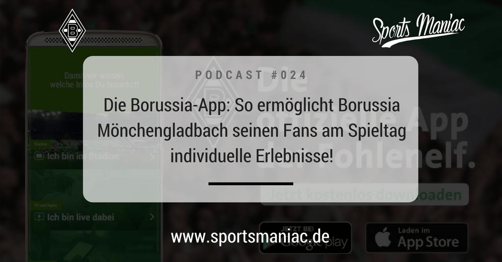 #024: Die Borussia-App: So ermöglicht Borussia Mönchengladbach seinen Fans am Spieltag individuelle Erlebnisse