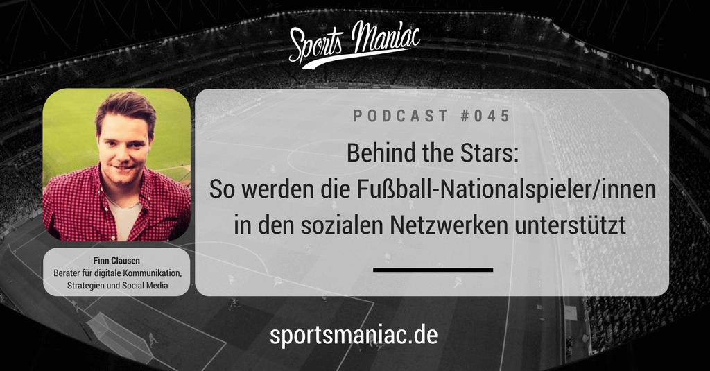 #045: Behind the Stars: So werden die Fußball-Nationalspieler/innen in den sozialen Netzwerken unterstützt