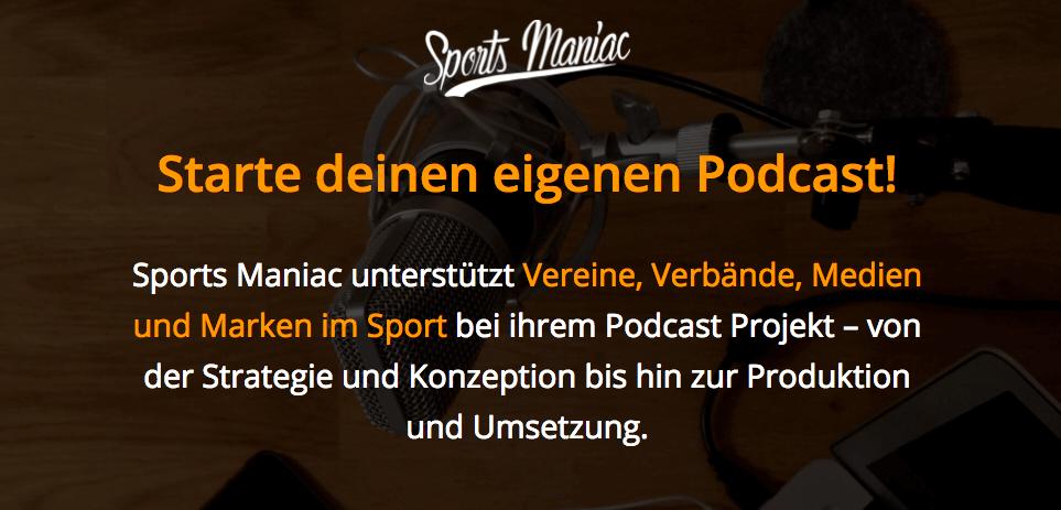 Starte deinen eigenen Podcast