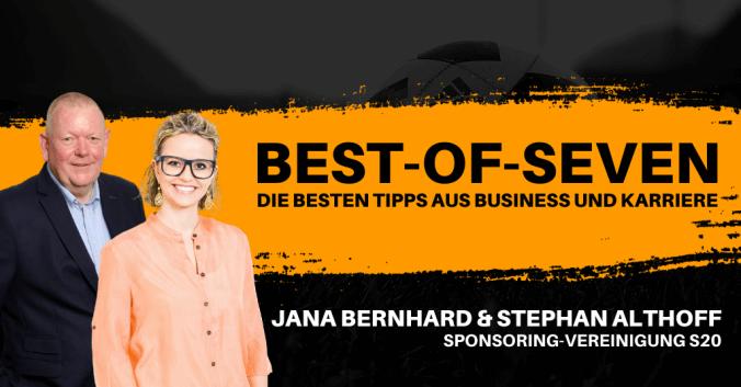 Best-of-Seven mit Jana Bernhard und Stephan Althoff von S20
