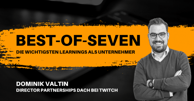 Best-of-Seven mit Dominik Valtin von Twitch