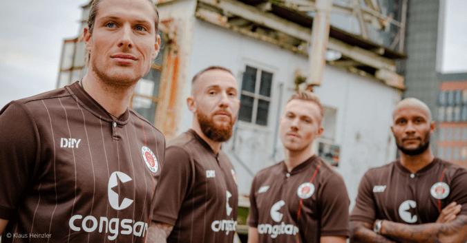 FC St. Pauli und der nachhaltigen Teamsportkollektion DIIY
