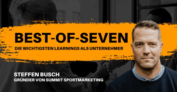 Best-of-Seven mit Steffen Busch