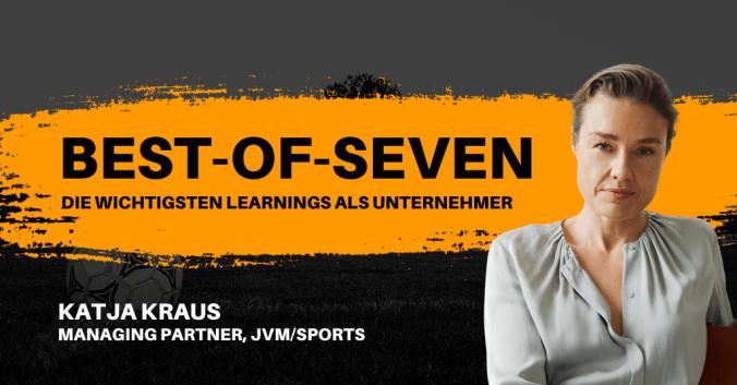 Katja Kraus in den Best-of-Seven