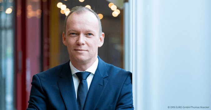 Markus Stenger von der DFB EURO GmbH im Sports Maniac Podcast