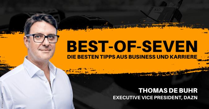 Thomas de Buhr von DAZN in den best-of-Seven