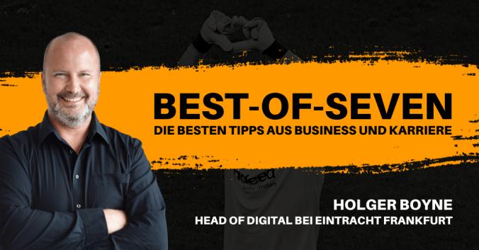 Holger Boyne in den Best-of-Seven