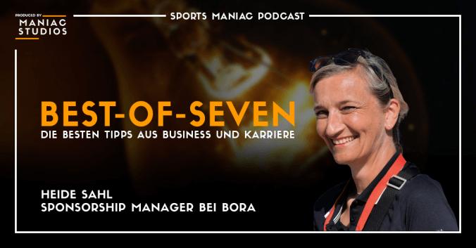 Heide Sahl von BORA in den Best-of-Seven