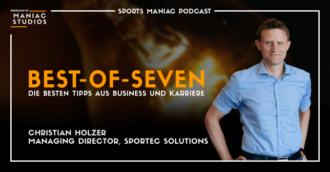 Christian Holzer von Sportec Solutions in den Best-of-Seven